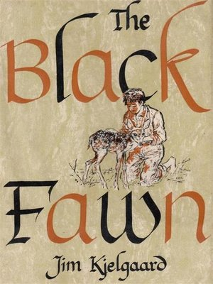 cover image of The Black Fawn